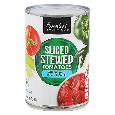 Signature SELECT Tomatoes Stewed Mexican Style - 14.5 Oz