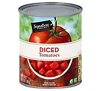 Signature SELECT Tomatoes Diced - 28 Oz