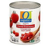 O Organics Organic Tomatoes Diced In Tomato Juice - 28 Oz
