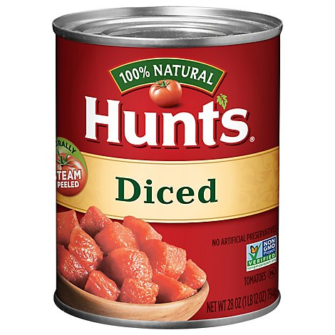 Hunts Tomatoes Diced - 28 Oz