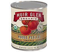 Muir Glen Tomatoes Organic Peeled Whole - 28 Oz
