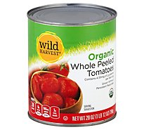 O Organics Organic Tomatoes Peeled Whole In Tomato Juice - 28 Oz