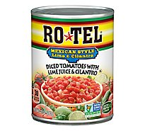 RO-TEL Diced Tomatoes Mexican Style With Lime Juice & Cilantro - 10 Oz