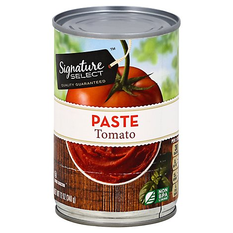 Signature SELECT Tomato Paste - 12 Oz