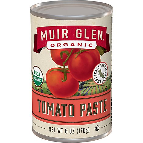 Muir Glen Tomatoes Organic Tomato Paste - 6 Oz