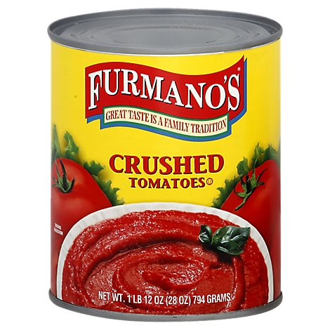 Furmanos Tomatoes Crushed - 28 Oz