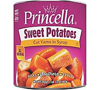 Princella Potatoes Cut Yams In Light Syrup Cut Sweet Potatoes - 29 Oz