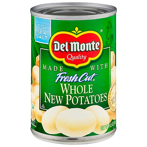 Del Monte Fresh Cut Potatoes New Whole with Natural Sea Salt - 14.5 Oz