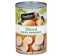 Signature SELECT Potatoes White Sliced - 15 Oz