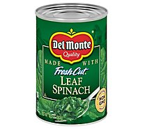 Del Monte Fresh Cut Spinach Leaf - 13.5 Oz