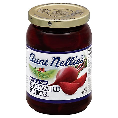 Aunt Nellies Beets Harvard Sweet & Sour - 15.5 Oz