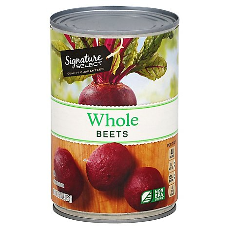 Signature SELECT/Kitchens Beets Whole Can - 15 Oz