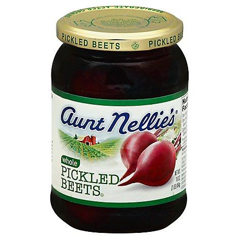 Aunt Nellies Beets Pickled Whole - 16 Oz