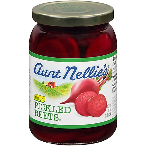 Aunt Nellies Beets Pickled Sliced - 16 Oz