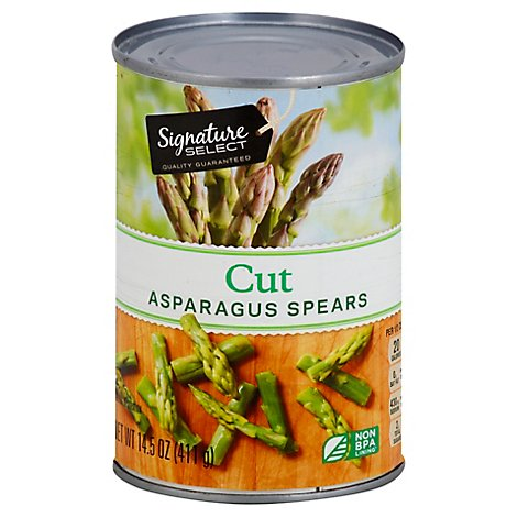 Signature SELECT Asparagus Spears Cut - 14.5 Oz