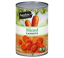 Signature SELECT Carrots Sliced - 14.5 Oz