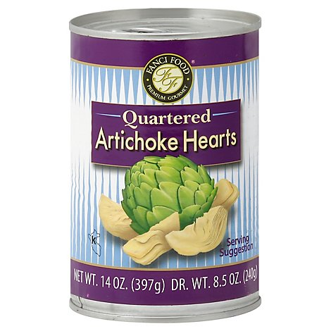 Fanci Food Artichoke Hearts Quartered - 14 Oz