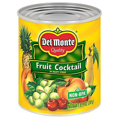 Del Monte Fruit Cocktail Classic in Heavy Syrup - 8.5 Oz