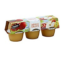 Signature SELECT Apple Sauce Cups - 6-4 Oz