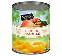 Signature SELECT Peaches Sliced in Heavy Syrup Can - 29 Oz
