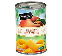 Signature SELECT Peaches Sliced in Heavy Syrup - 15.25 Oz