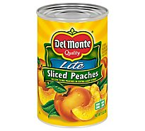 Del Monte Peaches Sliced Lite in Extra Light Syrup - 15 Oz