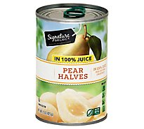 Signature SELECT Pear Halves in 100% Juice Can - 15 Oz