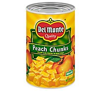 Del Monte Peaches California Chunks - 15.25 Oz