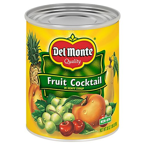 Del Monte Fruit Cocktail in Heavy Syrup - 30 Oz