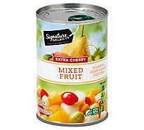 Signature SELECT Mixed Fruit Extra Cherry Can - 15 Oz