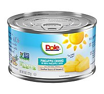 Dole Pineapple Chunks in 100% Pineapple Juice - 8 Oz