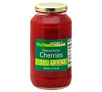 Signature SELECT Cherries Maraschino in Heavy Syrup - 28 Oz
