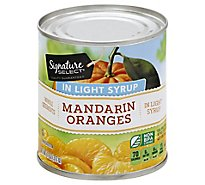 Signature SELECT Mandarin Oranges Whole Segments in Light Syrup - 11 Oz