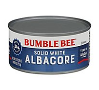 Bumble Bee Tuna Albacore Solid White in Water - 12 Oz