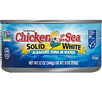 Chicken of the Sea Tuna Albacore Solid White in Water - 12 Oz