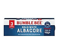Bumble Bee Tuna Albacore Solid White in Water - 3-3 Oz