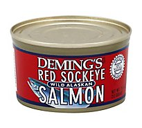 Demings Wild Alaska Salmon Red Sockeye - 7.5 Oz