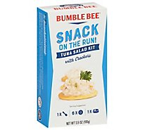 Bumble Bee Snack On The Run with Crackers Tuna Salad - 3.5 Oz