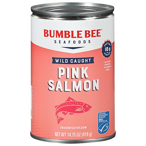Bumble Bee Salmon Pink Premium Wild - 14.75 Oz
