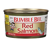 Bumble Bee Salmon Red Wild Alaska - 7.5 Oz