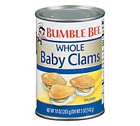 Bumble Bee Clams Baby Fancy Whole - 10 Oz