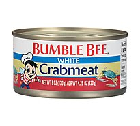Bumble Bee Crabmeat Premium Select Wild Fancy White - 6 Oz