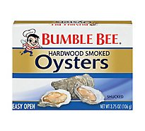 Bumble Bee Oysters Premium Select Fancy Smoked - 3.75 Oz