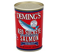 Demings Wild Alaska Salmon Red Sockeye - 14.75 Oz