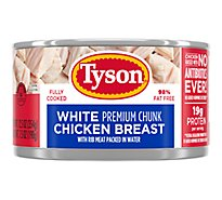 Tyson Premium Chunk White Chicken Breast - 12.5 Oz