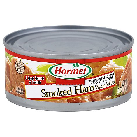 Hormel Smoked Ham Lean Water Added - 5 Oz