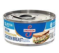 Swanson Chicken Breast Premium Chunk White - 4.5 Oz