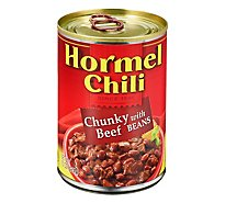Hormel Chili Chunky with Beans - 15 Oz