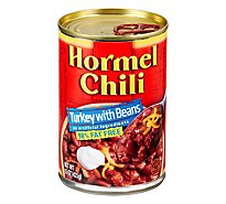 Hormel Chili Turkey with Beans - 15 Oz