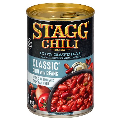 Stagg Chili With Beans Classique - 15 Oz